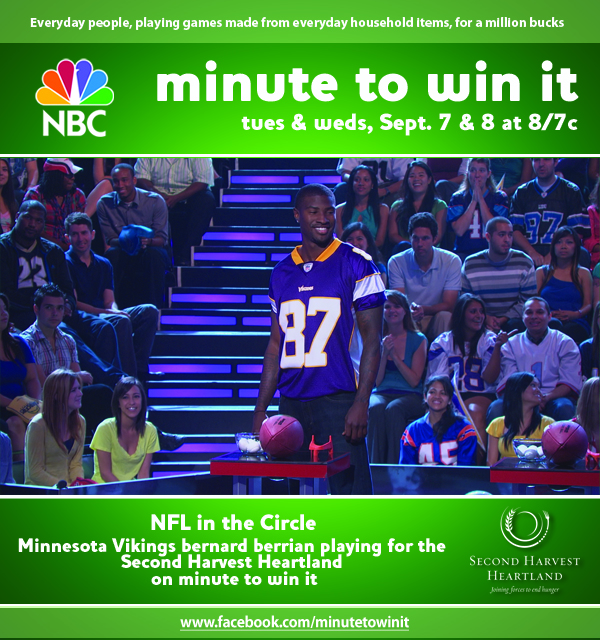 Bernard Berrian on Minute to Win It