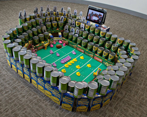 Canned Food Sculpture Ideas